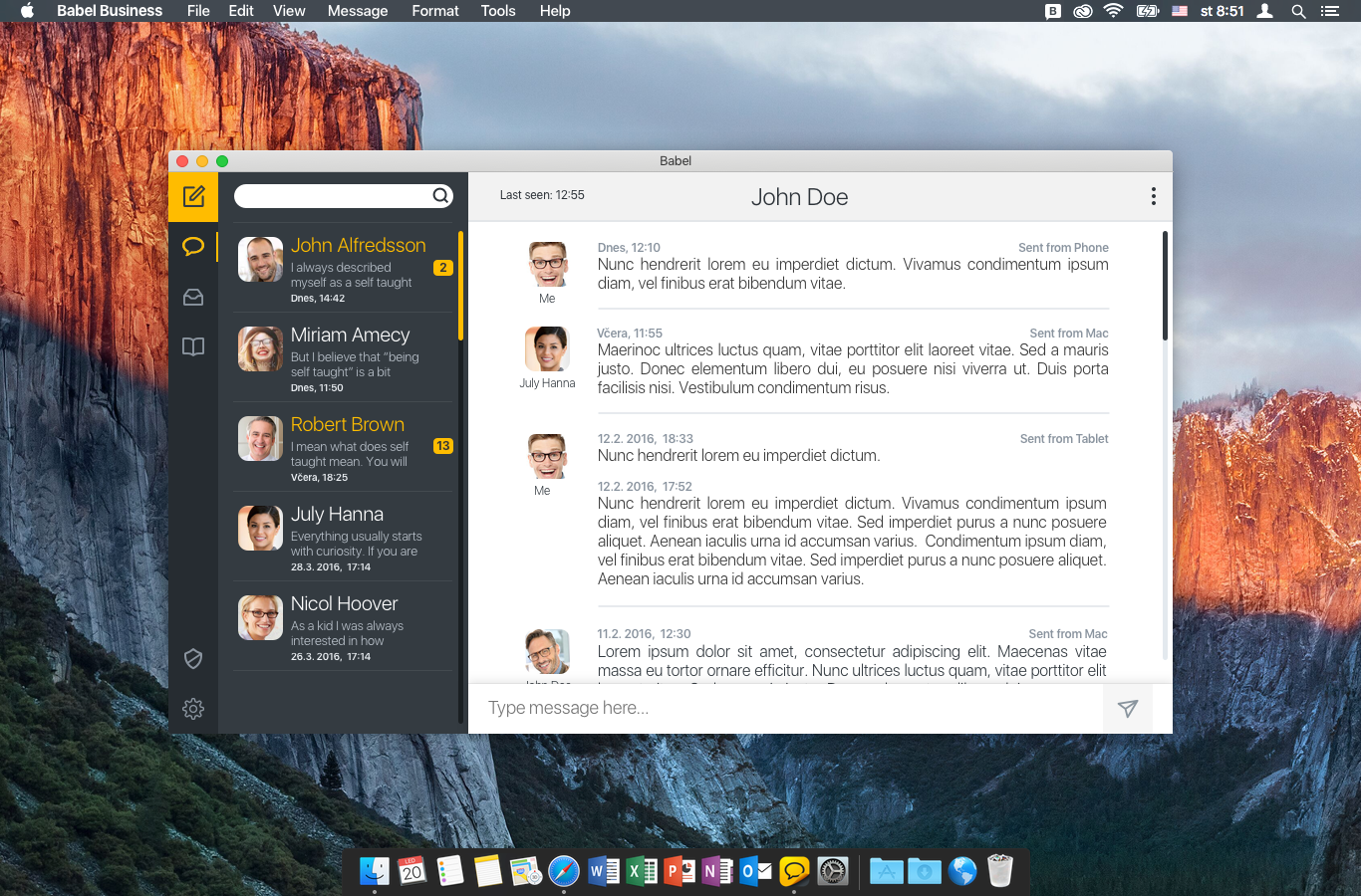 BABEL Business Edition pro Mac OS X