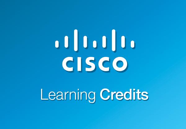 Nenechte propadnout své Cisco Learning Credits!