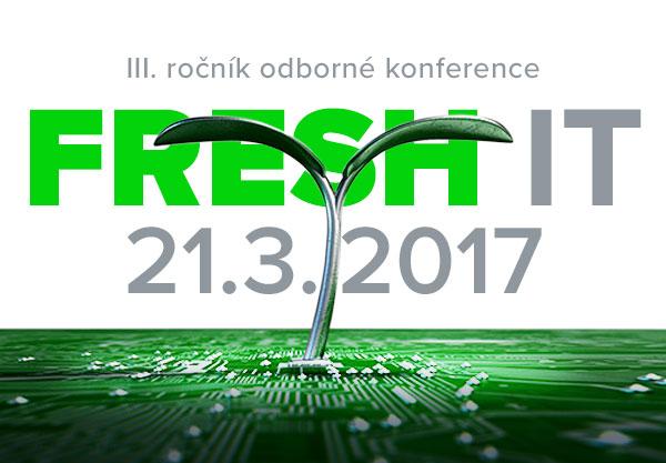 S námi budete v obraze. Blíží se další ročník konference Fresh IT!