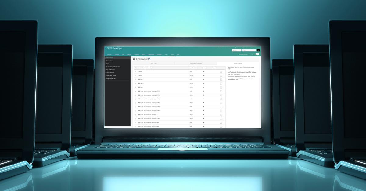 Novinky v oblasti školení Linux: SUSE Manager 3 a aktualizace kurzů zaměřených na administraci SLES