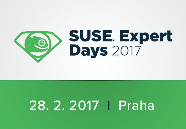SUSE Expert Days 2017 jsou tady. Nezapomeňte se registrovat!