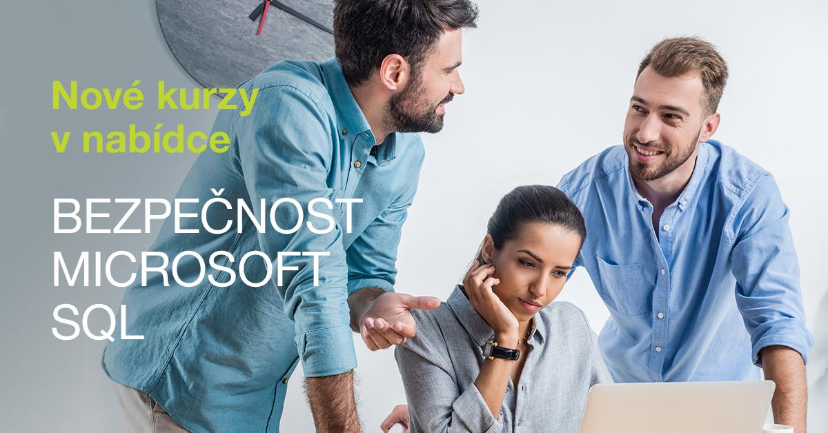 Nové kurzy v nabídce: bezpečnost, Microsoft nebo SQL