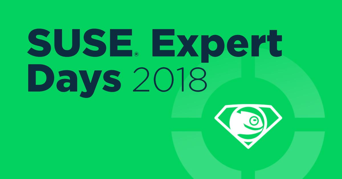 SUSE Expert Days 2018 – S chameleonem na pivo