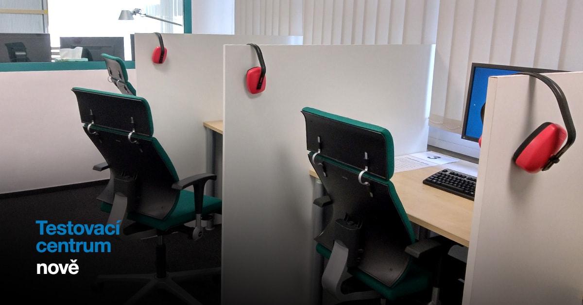 Zmodernizovali jsme naše testovací centrum Pearson VUE