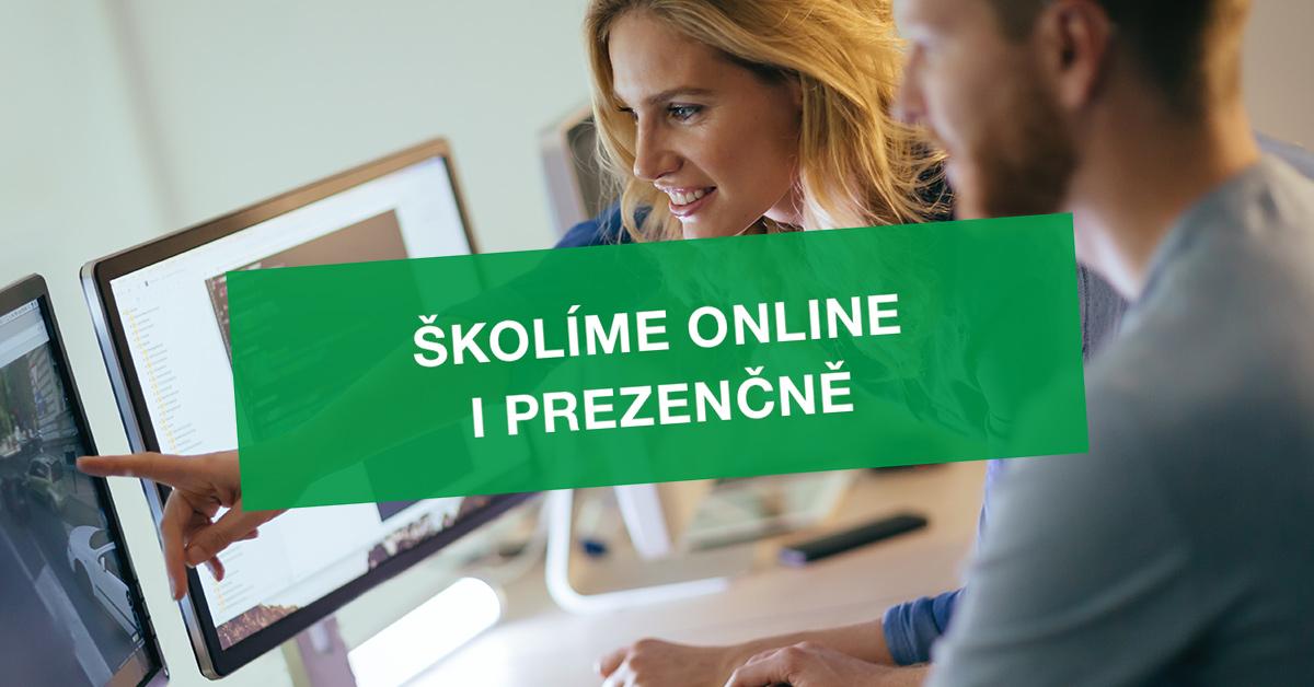 Školíme online i prezenčně