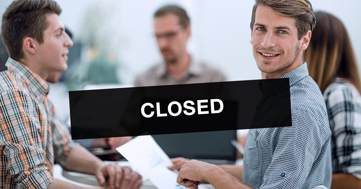Testing centre temporarily closed