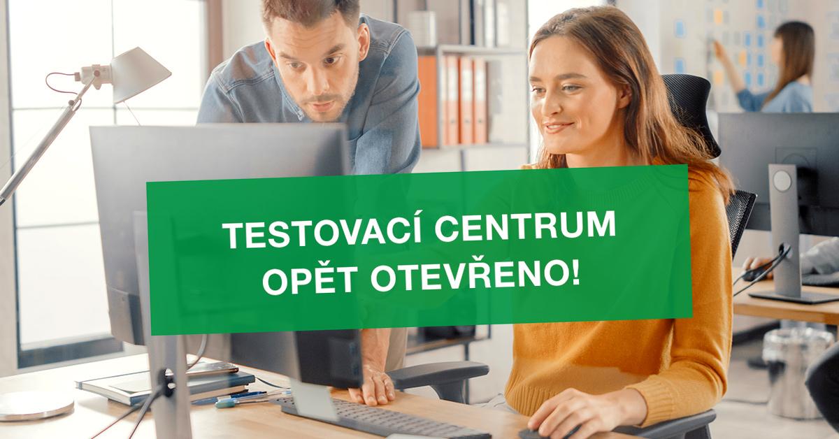 Testovací centrum opět otevřeno!