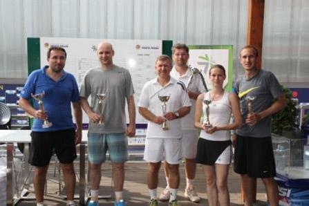 Vítězství v tenisovém turnaji čtyřher ICT UNIE