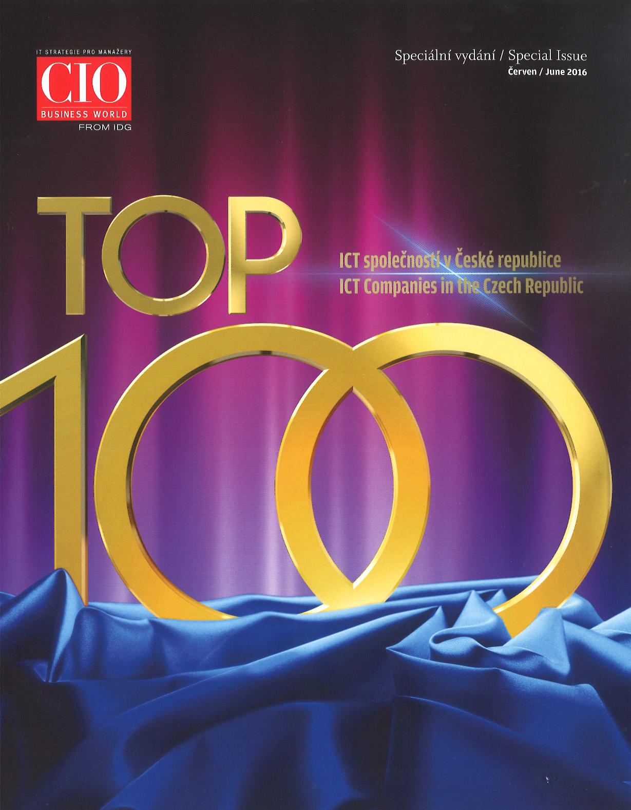 OKsystem je 40. v anketě TOP 100 ICT společností