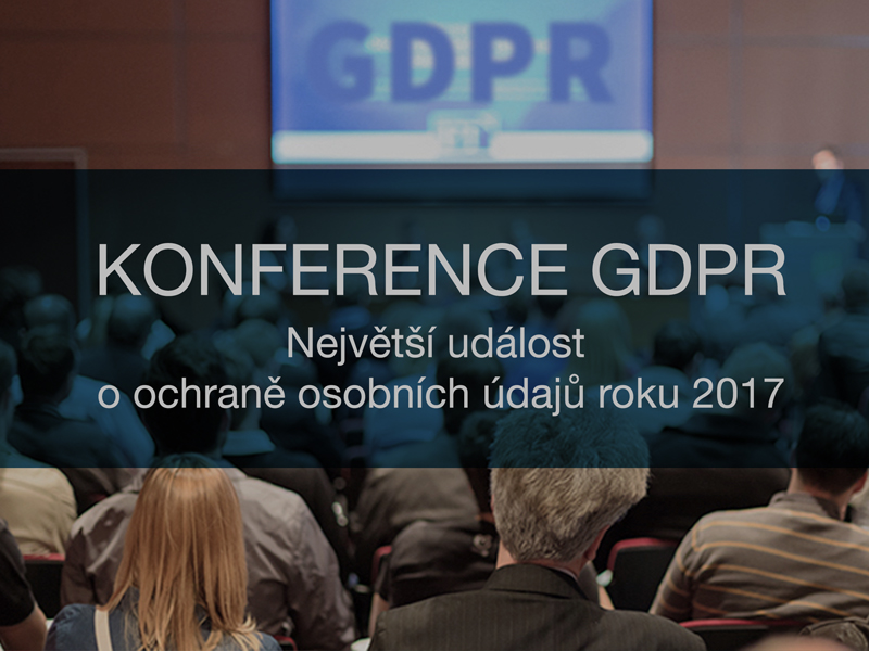 Konference GDPR 2017