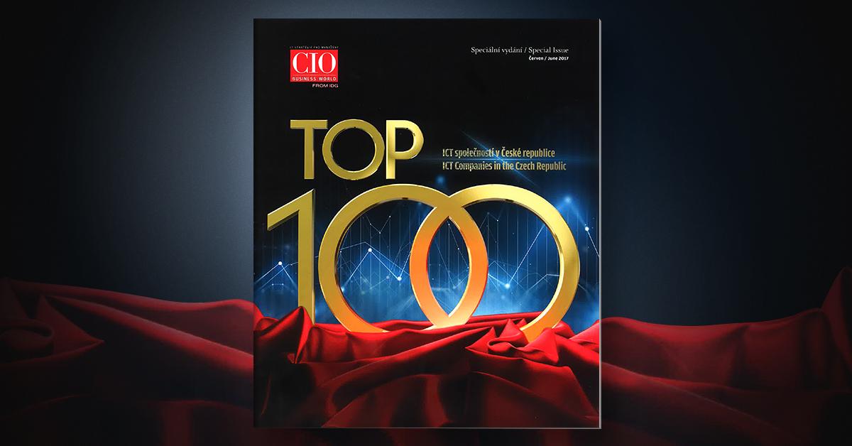 OKsystem stoupá výš v TOP 100 ICT