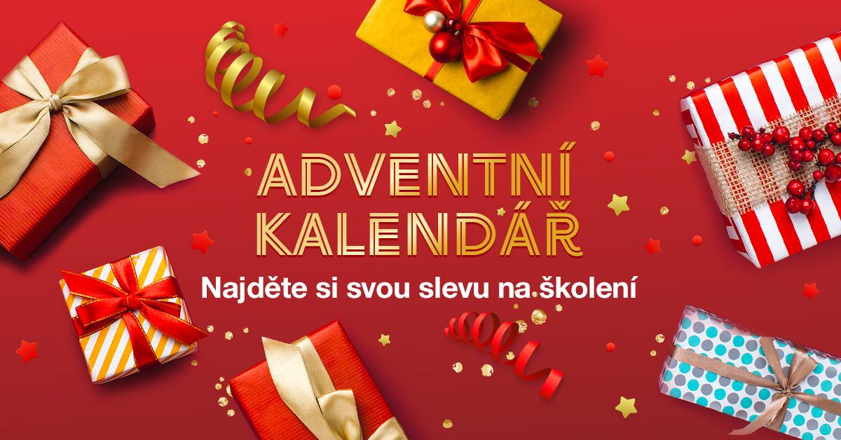 Adventní kalendář školicího centra – Klikněte si pro dárek