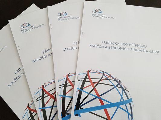 Příručka MPO ČR pro přípravu na GDPR