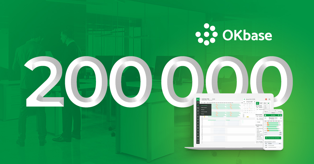 OKbase is already using 200 000 users!