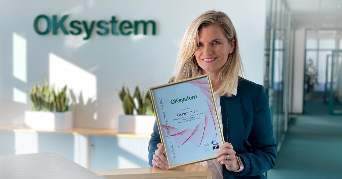 OKsystem awarded as the Hero of the fight against coronavirus