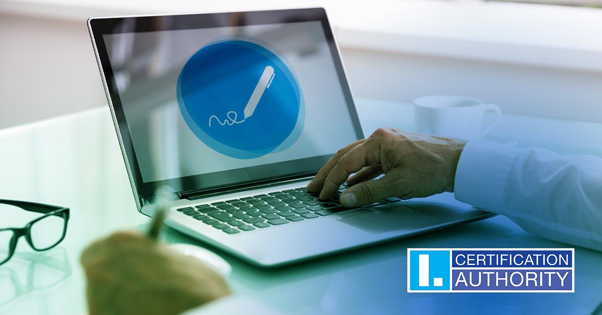 Registrační autorita I.CA vydává certifikáty online