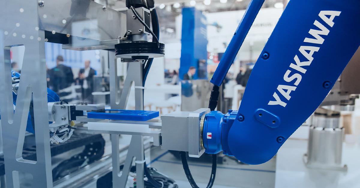 OKsystem představuje software k monitoringu robotů Yaskawa
