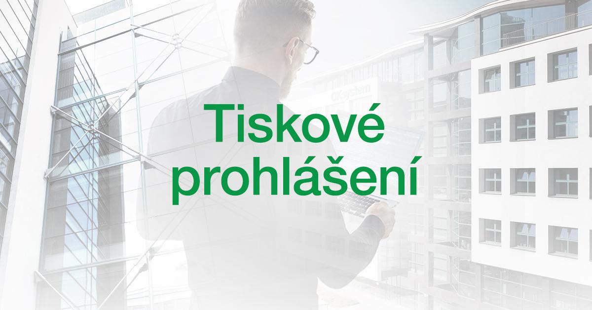 Prohlášení společnosti OKsystem