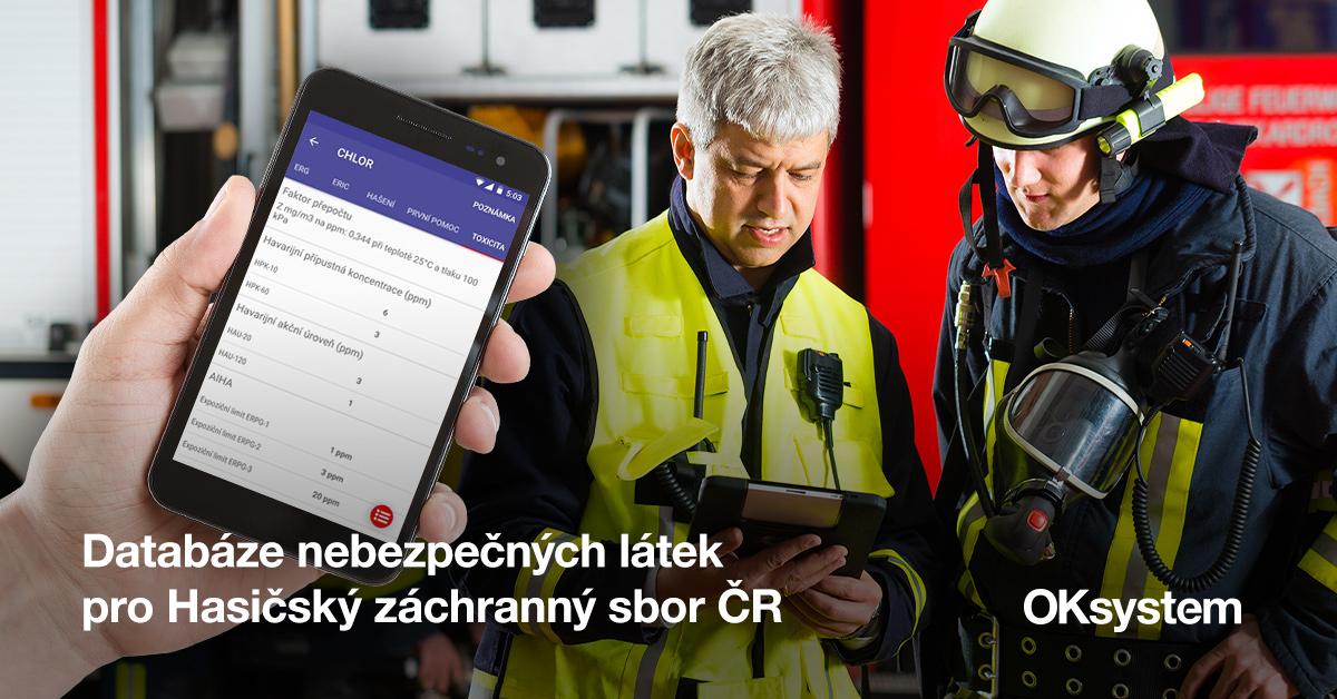 Databáze nebezpečných látek pro Hasičský záchranný sbor ČR