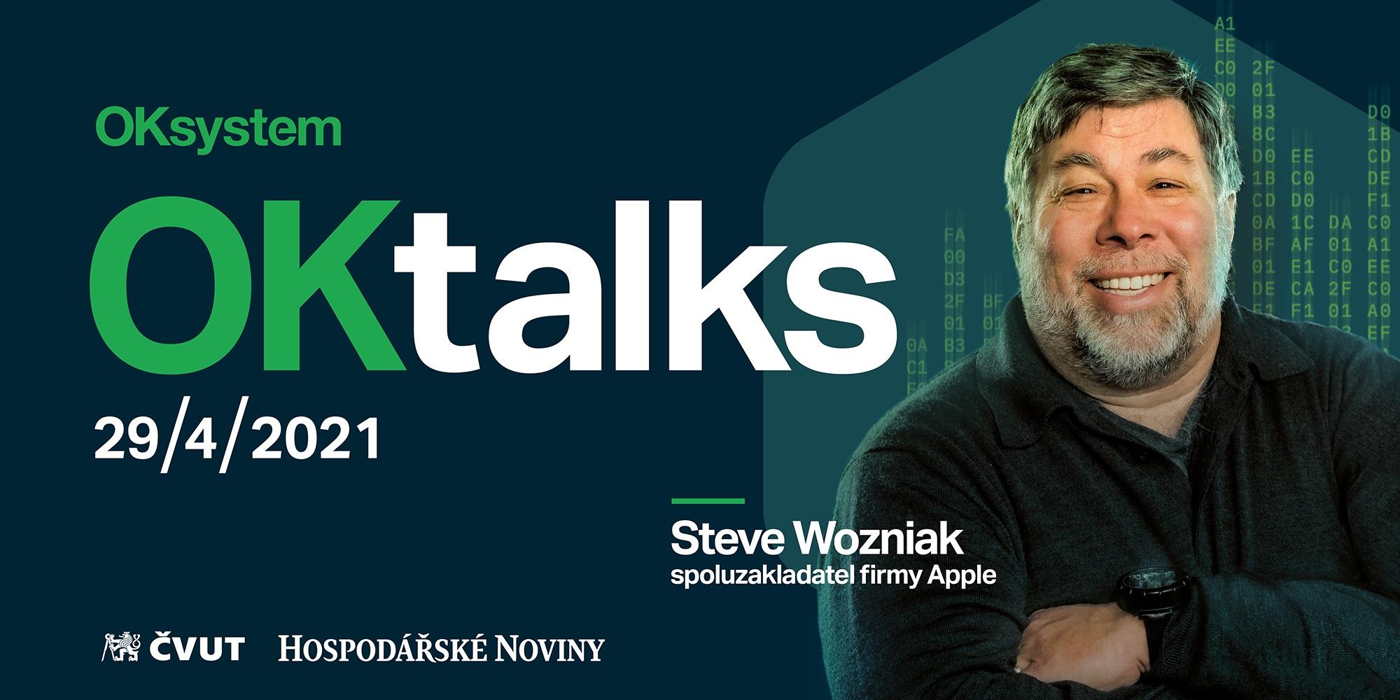 Konference se Stevem Wozniakem se odkládá na 29. dubna 2021